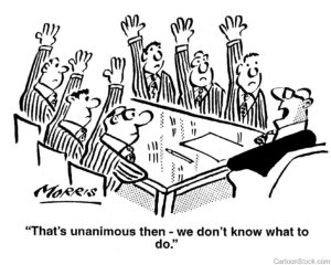 Group Decision Stagnation